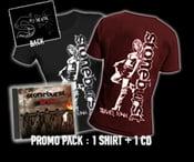 Image of Pack T-shirt / CD