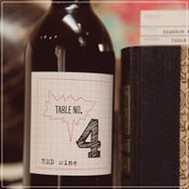Image of Wine Label Table No.