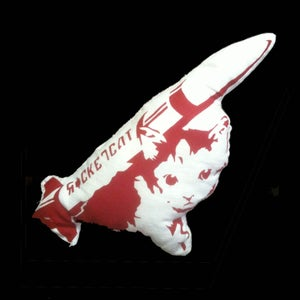 "Image of ""RocketKat"" the handmade toy"
