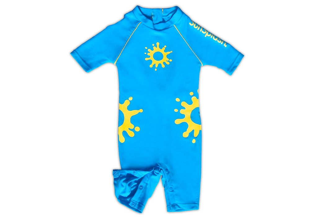 SunSplash Baby UV Sunsuit WITH MATCHING LEGIONNAIRE HAT- Reduced from €37 50