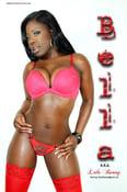 Image of Bella Poster - Red Lingerie