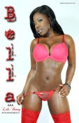 Image of Bella Poster - Red Lingerie (front)