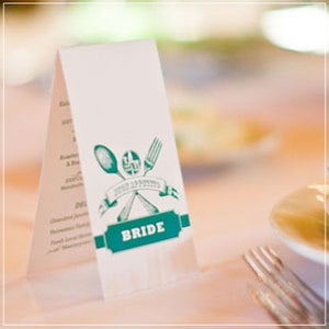 Image of Tent Card Menus