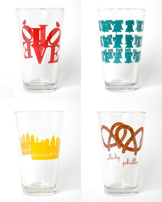 Philly glasses