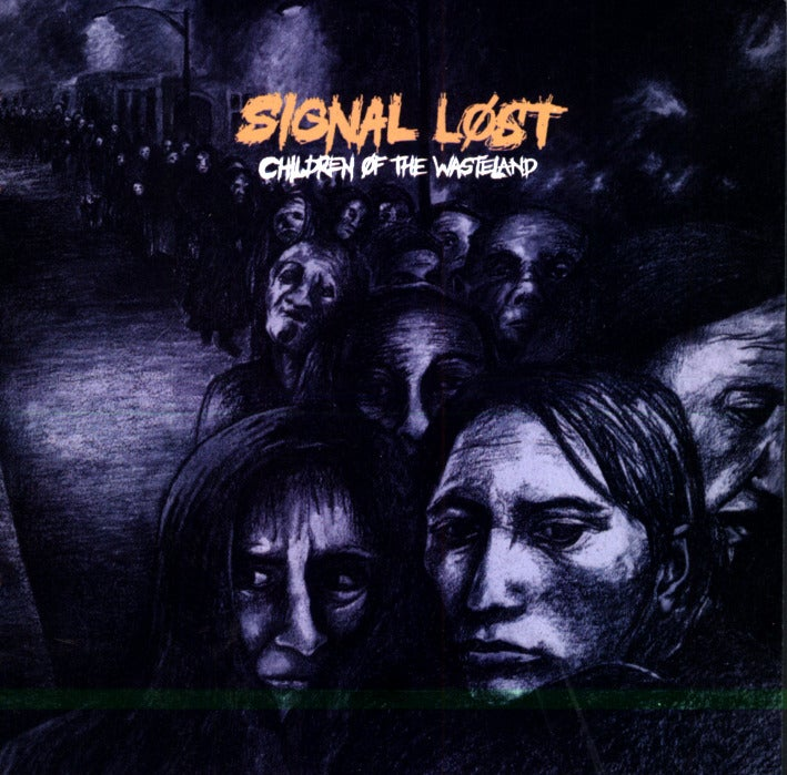 "Image of SIGNAL LOST - ""Children of the Wasteland"" CD"
