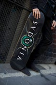"Image of Sydonia ""Logo"" Skateboard Deck (Different sizes/colours)"