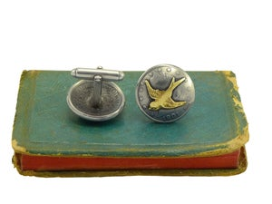 Image of Flying Swallows Cufflinks
