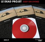 "Image of ""Keep on living"" LP"