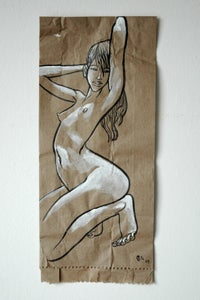 Image of paper bag lady 01