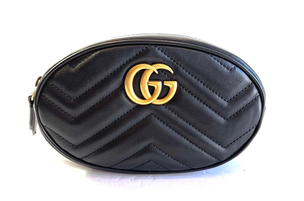 Image of Gucci Marmont Belt Bag 674-3765