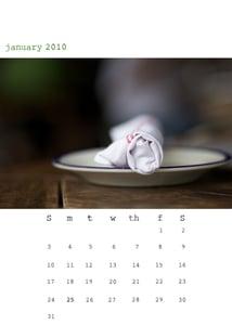 Image of 2010 calendar