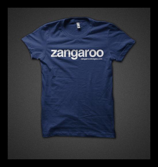 Image of Classic Zangaroo (Navy Blue)