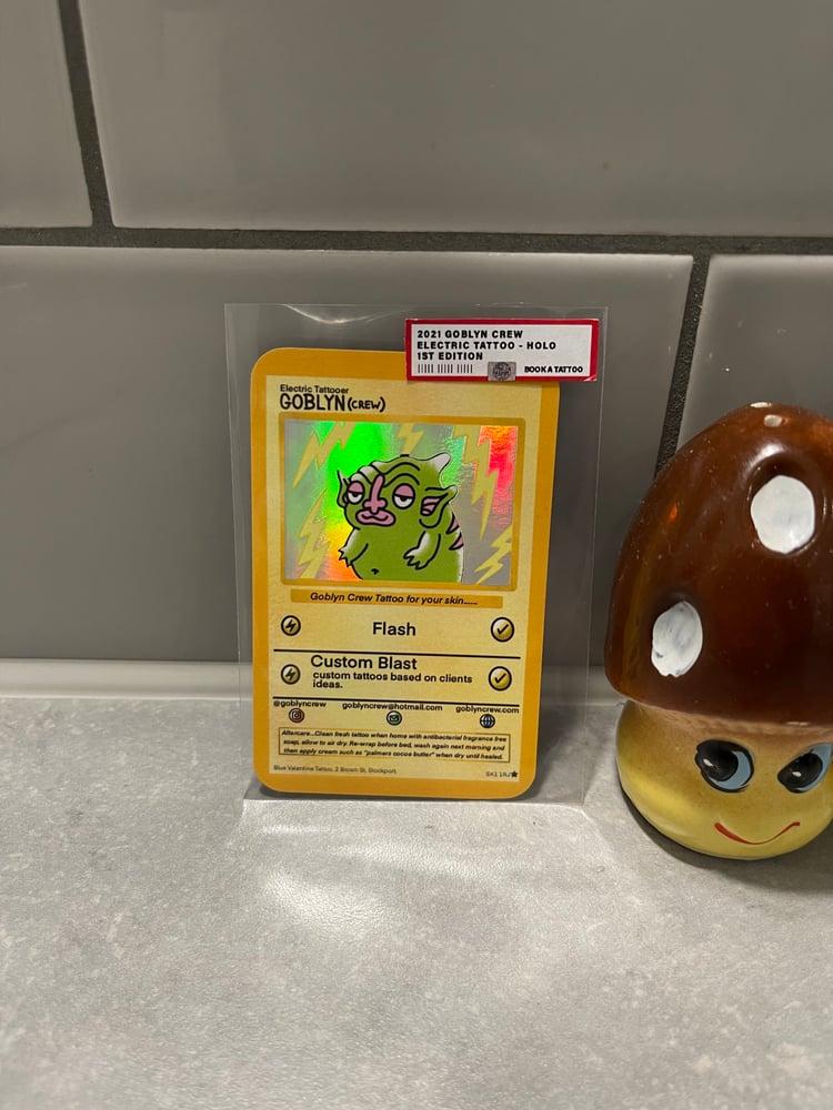 Image of Goblyn Crew limited Edition Pokétat card