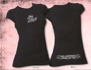 Image of Womens Blasted Short Sleeve T-Shirt