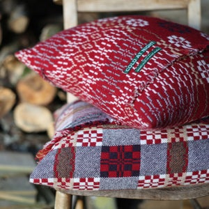 Image of Welsh Wool coldatnight Blanket cushions