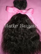 Image of Candy Cane (Curly) Hair - Machine Weft