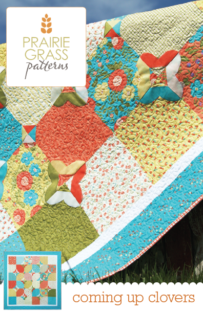 Image of Coming Up Clovers: Quilting Pattern #108