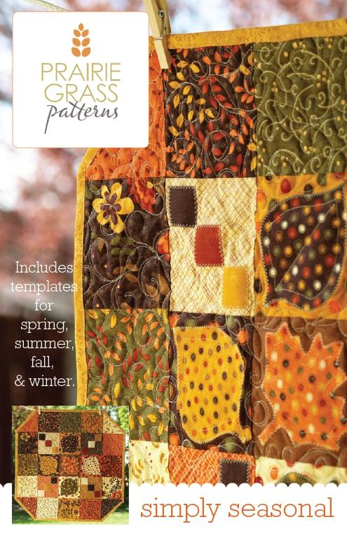 Image of Simply Seasonal: Quilting Pattern #109