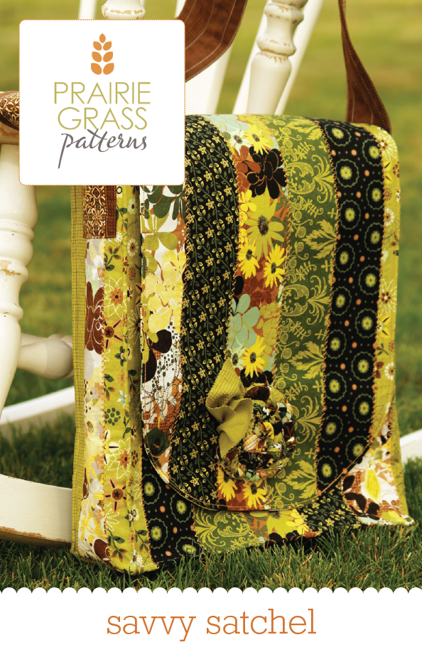 Image of Savvy Satchel: Sewing Pattern #112