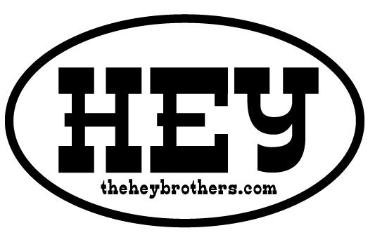 Image of Destination HEY sticker - 5 for $5