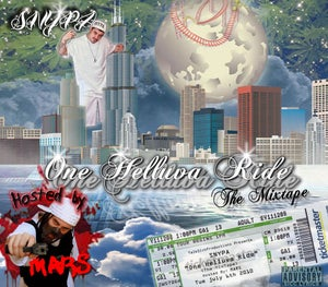 Image of One Helluva Ride The Mixtape Hosted By MARS (Limited Edition)