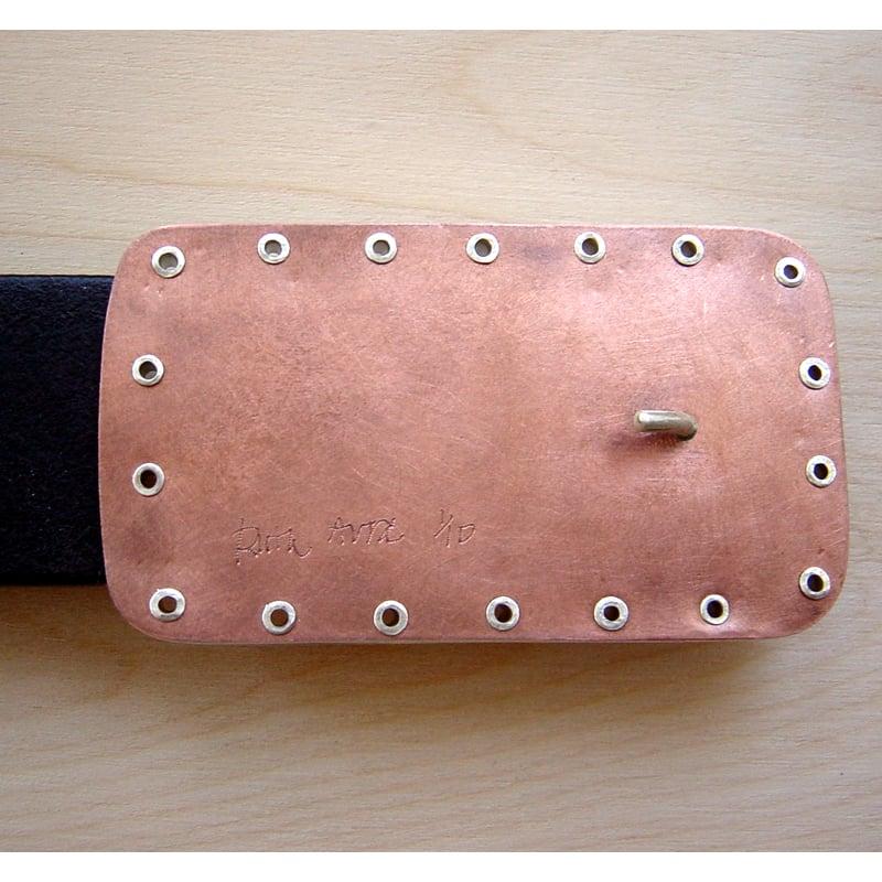 Image of Stingray Belt Buckle, RAN106