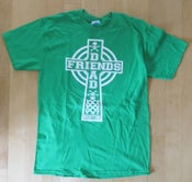 Image of Men's celtic cross shirt