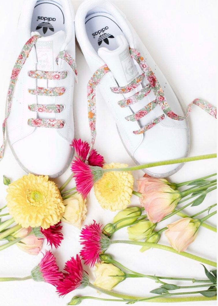 Image of Liberty Print Shoelaces in Amelie F