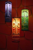 Image of SHAG Tiki Pendant Lamp Combo Set
