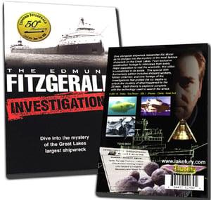 Image of The Edmund Fitzgerald Investigation DVD