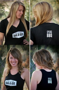 Image of God Bless Barbeque Women's Tank & Shirt