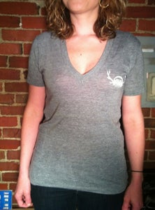 Image of Great North V-Neck Tee (American Apparel)