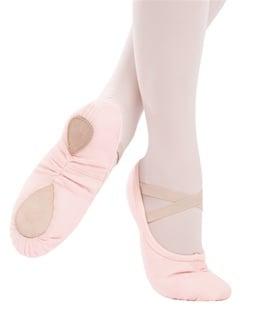 Image of Capezio Pro Canvas Split Sole Ballet Pink