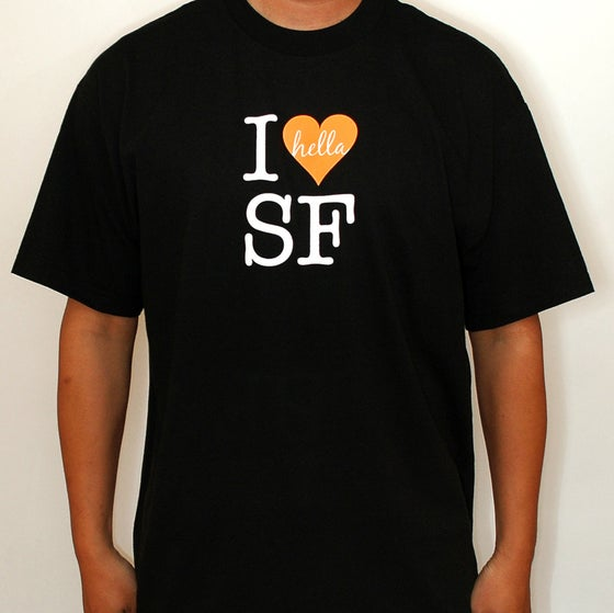 Image of I Hella Heart SF (black)