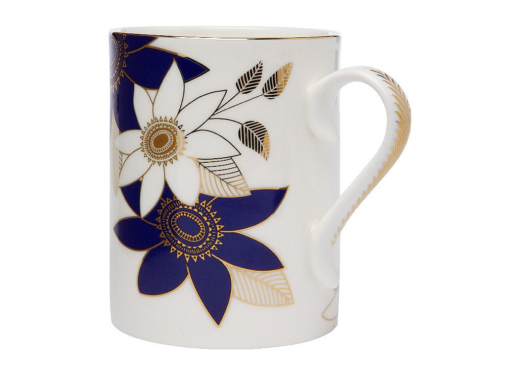 Image of Cup 'Rangoli' (Indigo Blues Collection)