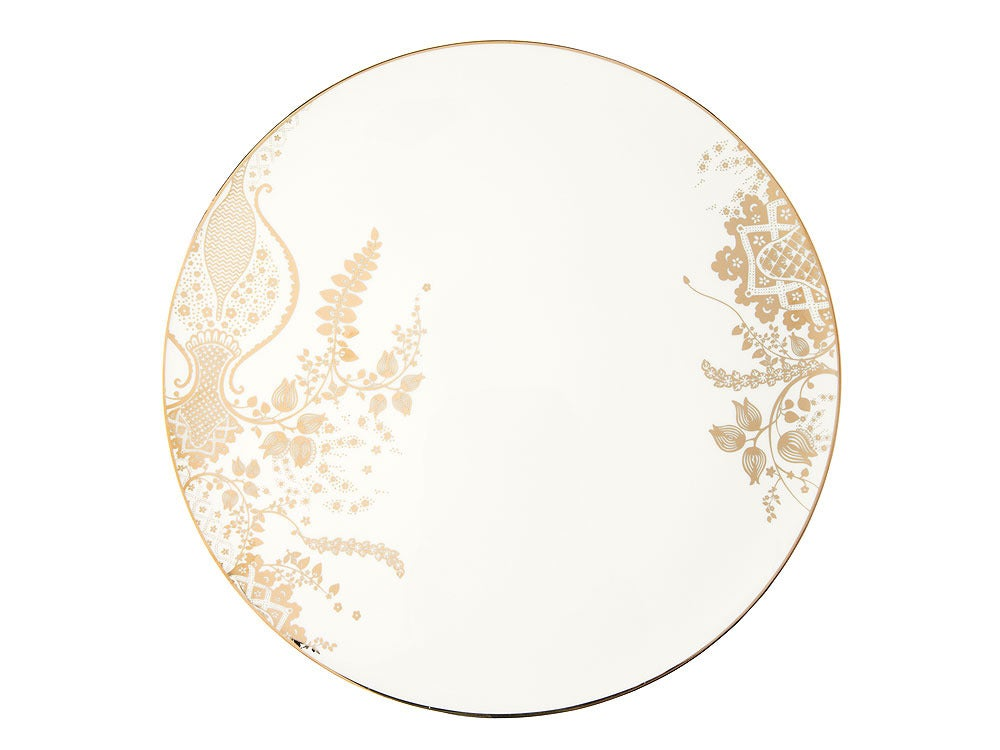 Image of Cake Plate 'Shali' (Indigo Blues Collection)