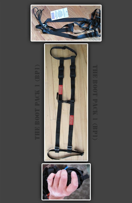 Image of Boot Pack 1 Ski & Snowboard Carry System Made in Colorado