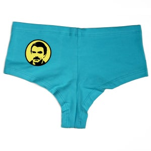 Image of American Mustache Cotton Spandex Hot Shorts