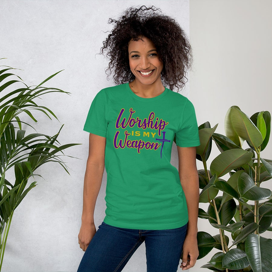 Image of Worship is My Weapon T-Shirt