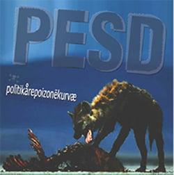 Image of PESD (POST EXTREME STRESS DISORDER) - POLITIKAREPOIZONEKURVAE LP