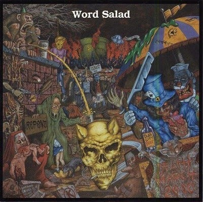 "Image of WORD SALAD - ""Deathmarch 2000"" CD"
