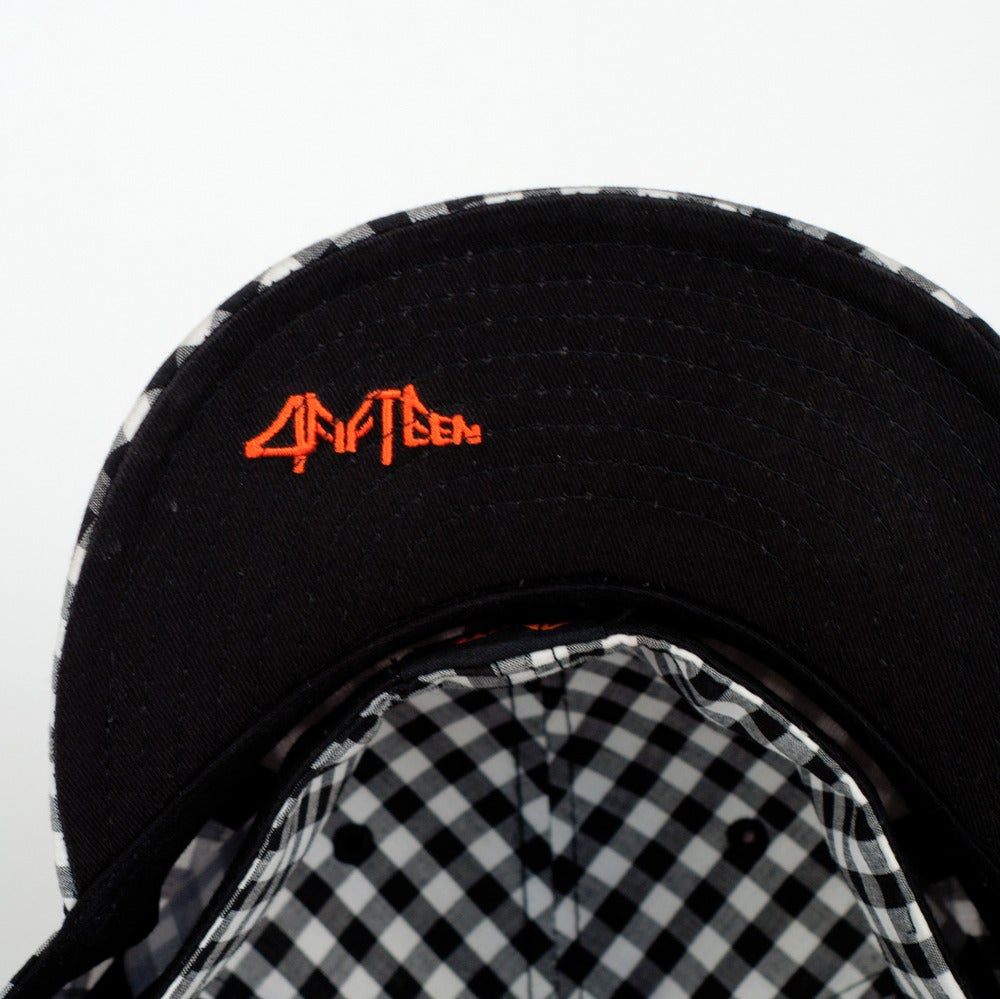 "Image of ""4fifteen Giant"" Gingham Fitted Cap"