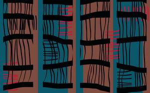 Image of Bamboo 1 (Digital print on cotton twill)