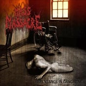 Image of MASS MASSACRE - Repentance In Gangrene CD/DEHYDRATED GOAT Lat Genocide against the brain cells CD