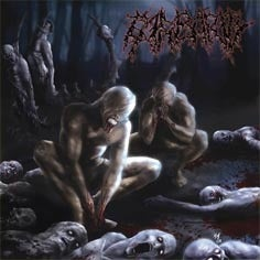 Image of BARBARITY-Grotesque Contradiction/SLAUGHTER BRUTE Excellent Meat/DEAD THEORY-Teriak Siksa Bathin