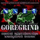 Image of UNITED STATES OF GOREGRIND SPLIT-CD