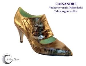 Image of CASSANDRE Kaki/Argent