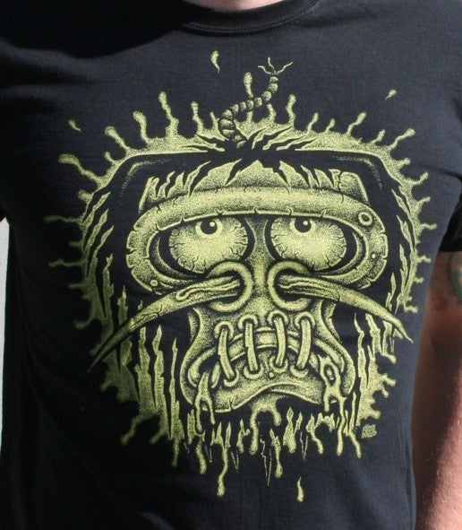 Image of Shrunken Head Guys & Ladies T-Shirt.