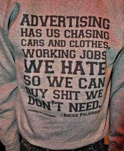 Image of Advertising Sweatshirt