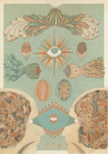 Image of Synesthesia Giclee Print #1: ophthalmoception // sight